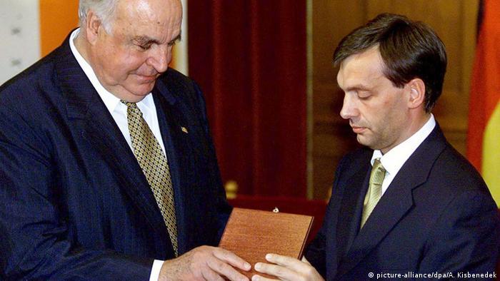 Kohl y Orban, en una foto del año 2000.