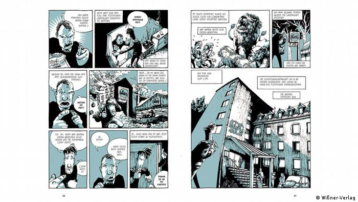 Comic from Stories from the Grand Hotel, Copyright: Wißner-Verlag