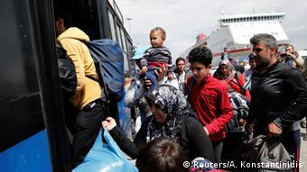 Αισθητή είναι η μείωση του αριθμού των προσφύγων που φτάνουν από την Τουρκία στην Ελλάδα
