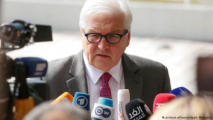 Luxemburg EU-Außenministertreffen PK Frank-Walter Steinmeier