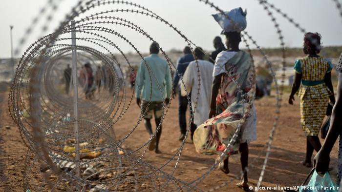 Süd Sudan UN Juba Flüchtlingslager