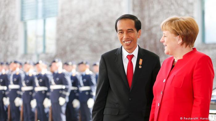 Deutschland Indonesien Joko Widodo bei Merkel