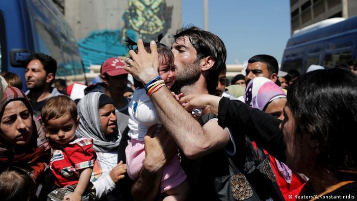 Refugees, Greece © Reuters/A.Konstantinidis