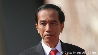 Deutschland Indonesien Joko Widodo bei Merkel (Getty Images/S. Gallup)