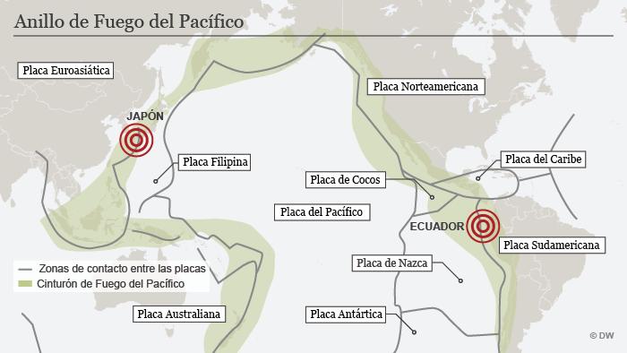 Ecuador La tierra temblar durante meses  Amrica Latina  DW