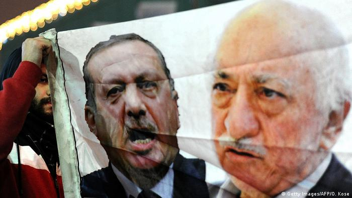 Türkei Erdogan Fethullah Gülen Konflikt Symbolbild