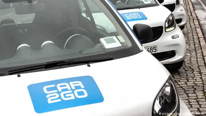 Deutschland Carsharing-Unternehmen car2go