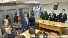 Ukraine Kiew Prozess russische Soldaten Yevgeny Yerofeyev Alexander Alexandrow
