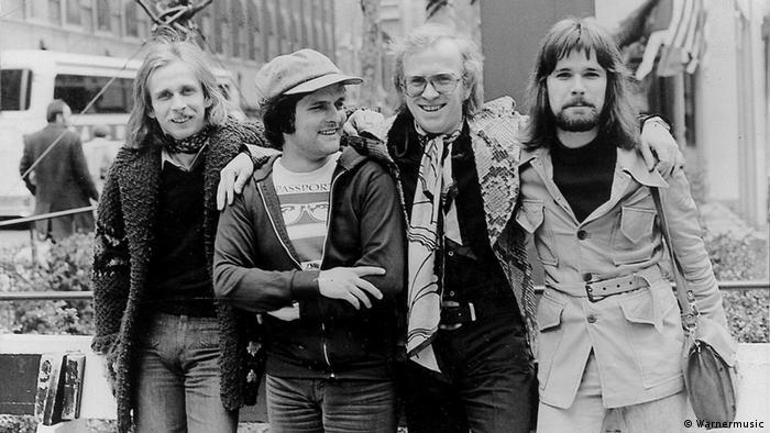 Die vier Musiker von Klaus Doldingers Band Passport. (Foto: Warnermusic)