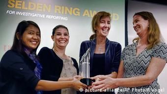 2016 Pulitzer Preis Selden Ring Award
