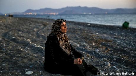 Griechenland Kos Pulitzer Prize Bild Yannis Behrakis Blinde Frau