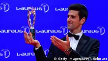 Berlin Laureus Awards Novak Djokovic