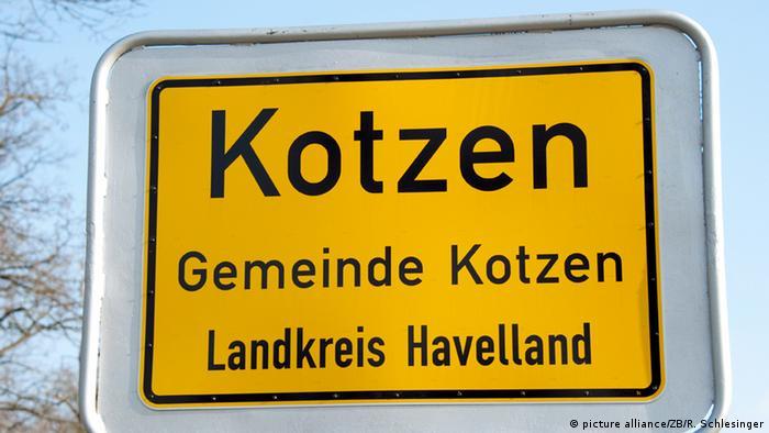 Em alemão, kotzen quer dizer vomitar