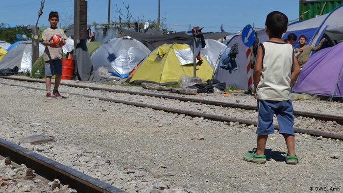Griechenland Flüchtlinge in Idomeni