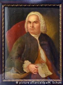 Painting of Johann Sebastian Bach. © picture-alliance/dpa/M. Schutt
