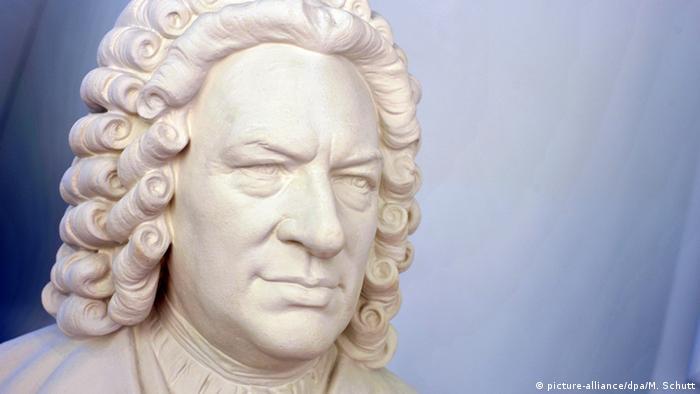 Deutschland Bachhaus Eisenach - Büste Johann Sebastian Bach