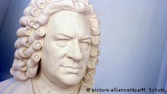 Statue of Johann Sebastian Bach in Eisenach