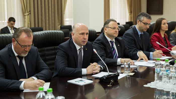 Delegaţia guvernamentală a R. Moldova la întâlnirea cu Hans-Joachim Fuchtel