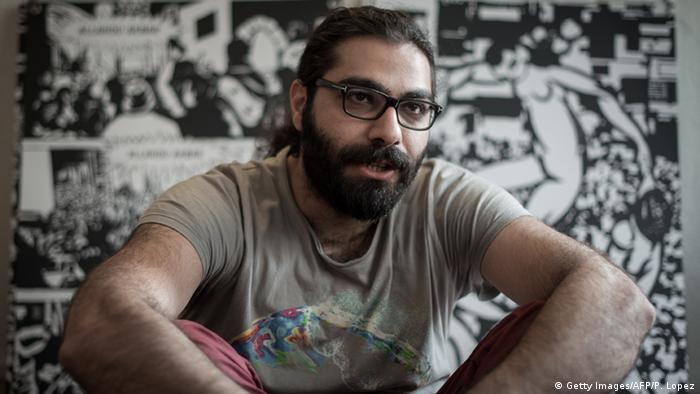 Syrian artist Hamid Sulaiman