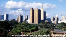 Kenia Skyline Nairobi