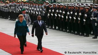 Deutschland Angela Merkel empfängt Filipe Nyusi