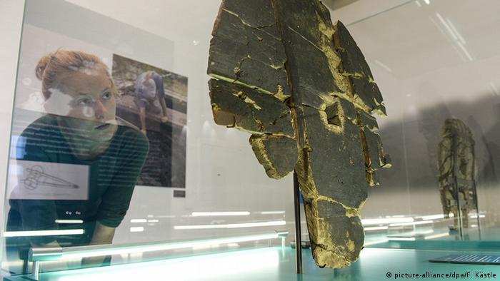 Колесный диск из ясеня и клена третьего тысячелетия до нашей эры