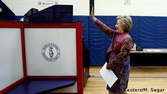 US Vorwahlen New York Hillary Clinton