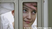 Russland Donezk Prozess Nadeschda Sawtschenko russische Pilotin