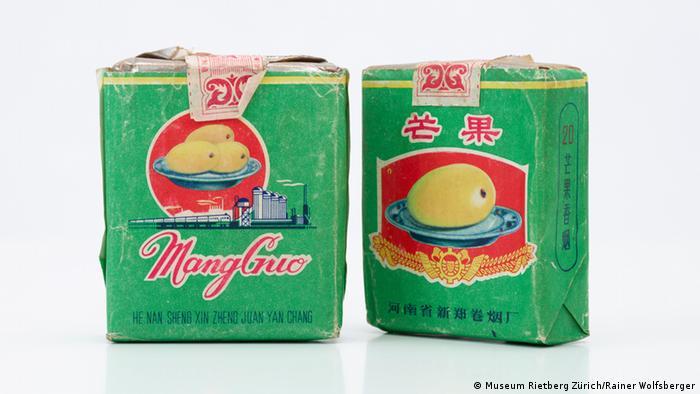 Museum Rietberg Zürich Mango Zigarettenpackung