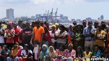 Tansania Dar Es Salaam Kigamboni Brücke Eröffnung