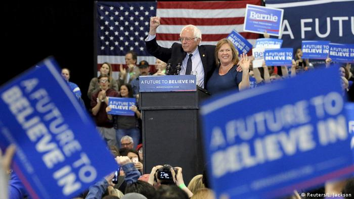 USA New York Vorwahlen Bernie Sanders
