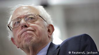 Der demokratische Präsidentschaftskandidat Bernie Sanders (Foto: Reuters/L. Jackson)