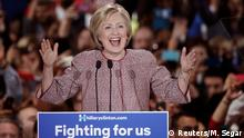 USA New York Vorwahlen Hillary Clinton