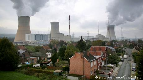Tihange nuclear power plant in Belgium