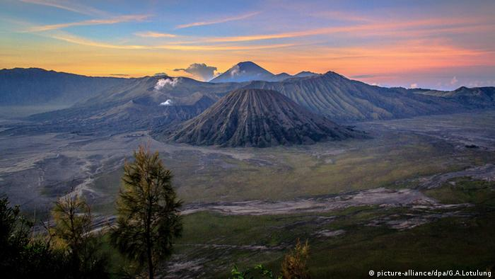 Indonesien Mount Bromo Vulkan Landschaft Java