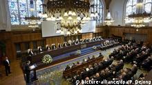 Niederlande 70 Jahre Internationaler Gerichtshof Den Haag