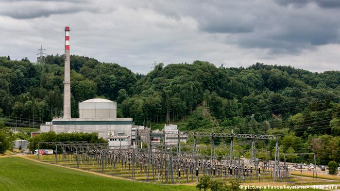 АЭС Мюлеберг в Швейцарии