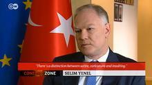Selim Yenel bei Conflict Zone