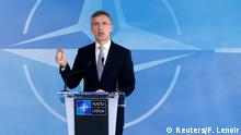 20.4.2016 NATO Secretary General Jens Stoltenberg speaks after a NATO-Russia Council at the Alliance's headquarters in Brussels, Belgium, April 20, 2016. REUTERS/Francois Lenoir TPX IMAGES OF THE DAY Reuters/F. Lenoir