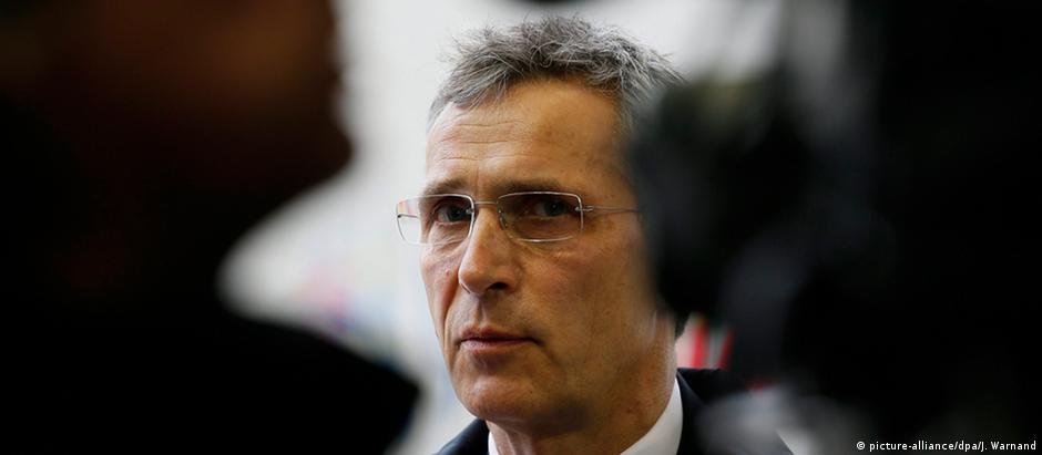 """Jens Stoltenberg, secretário-geral da Otan: """"Profundas diferenças"""""""