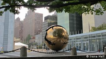 UN headquarters in New York is hosting the ceremony.