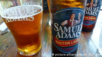American beer brand Samuel Adams Copyright: picture-alliance/dpa/A. Schuler