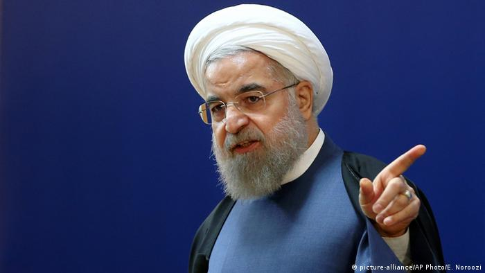Iranian President Hassan Rouhani (picture-alliance/AP Photo/E. Noroozi)