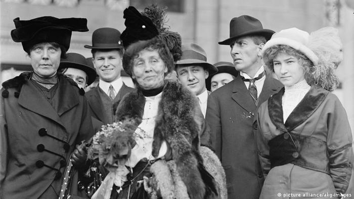 England Manchester Suffragettes (picture alliance/akg-images)