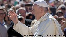 Vatikan Generalaudienz Papst Franziskus