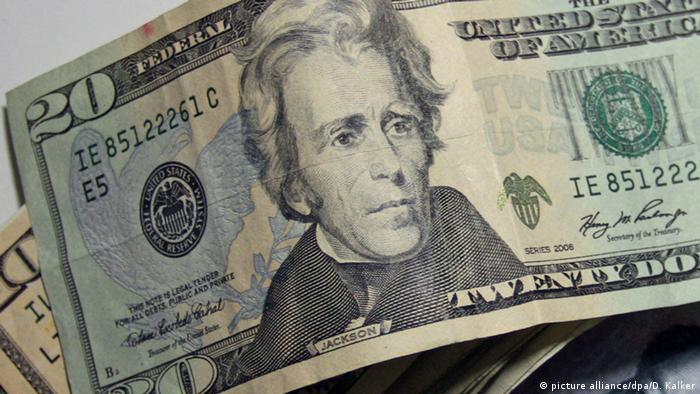 USA 20 Dollar Schein Präsident Jackson