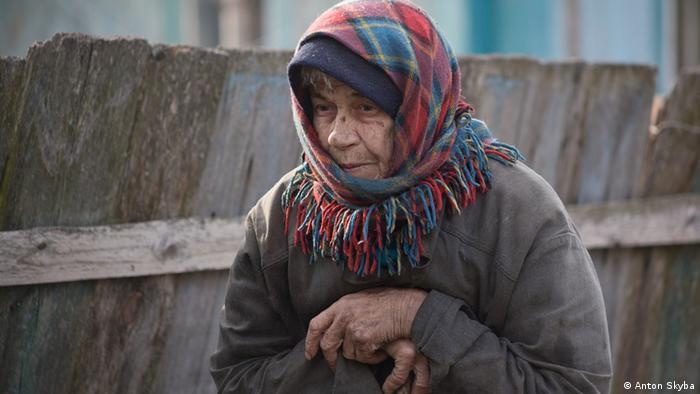 Marija Sapura in Tschernobyl (Foto: Anton Skyba)