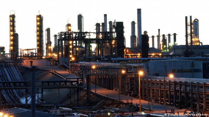 Symbolbild Anlage der Ölgesellschaft Pemex