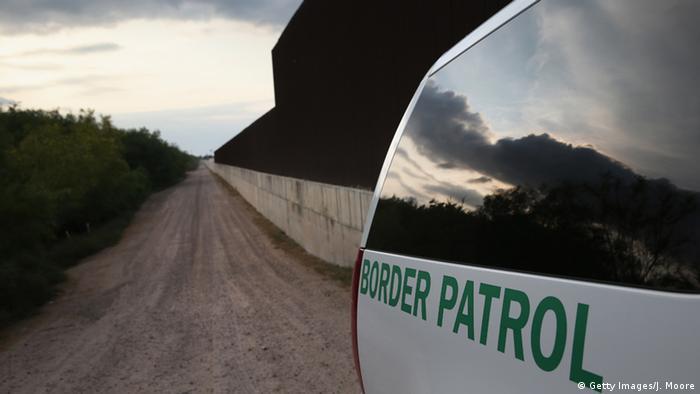 Grenze zwischen Mexiko und den USA (Getty Images/J. Moore)