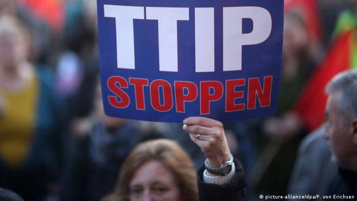 Germany has witnessed thousands of protesters demand the end of TTIP negotiations